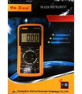 مولتی متر دیجیتال یاکسون +YAXUN DT-9205A
