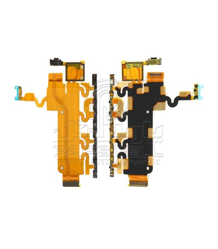 فلت پاور - ولوم - بازر - میکروفون - اسلایدر سونی اکسپریا Z1