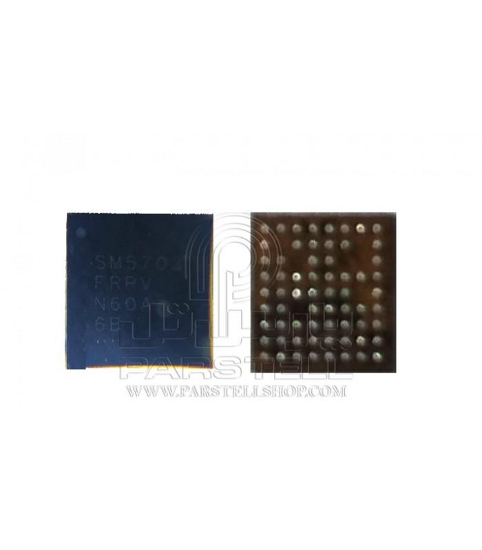 آی سی تغذیه سامسونگ گلگسی J7-J5-A8 شماره فنی:SM5703A