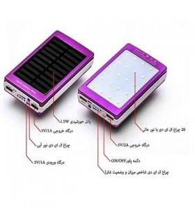 پاور بانک خورشیدی 5000mAh مدل سولار
