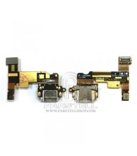 فلت شارژ و میکروفون ال جی LG G6
