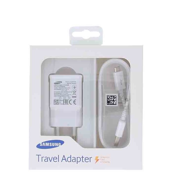 شارژر سریع اصلی سامسونگ همراه کابل Samsung Fast Charging Travel Adapter