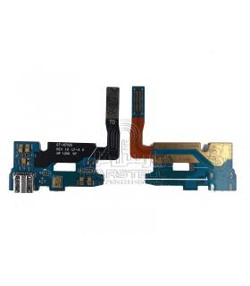 فلت شارژ-میکروفن سامسونگ گلگسی N7100-NOTE2