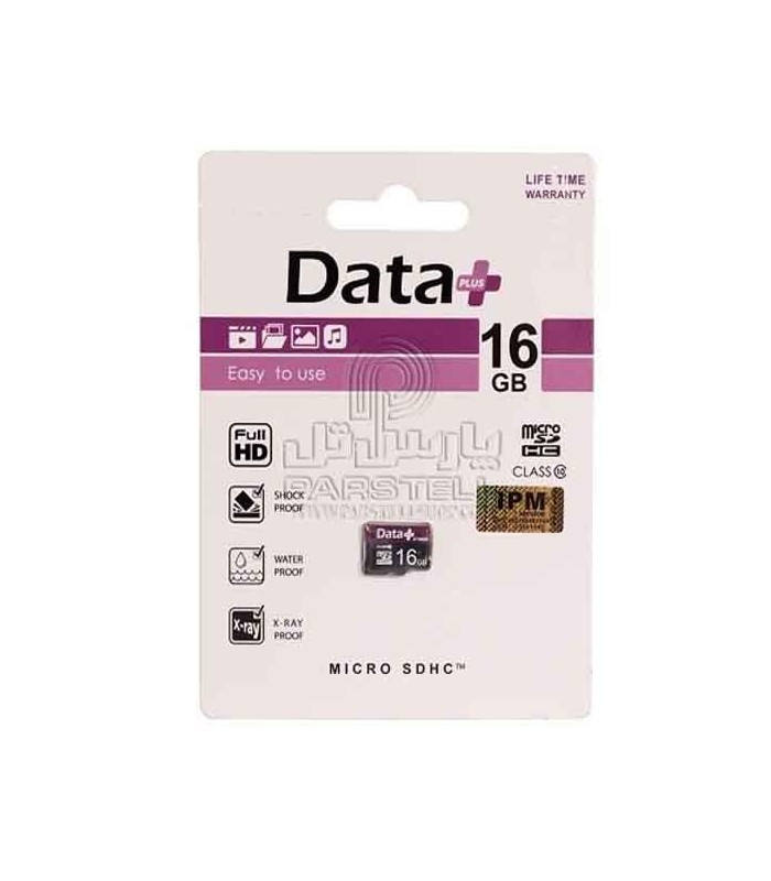 کارت حافظه میکرو اس دی دیتا پلاس 16 گیگ