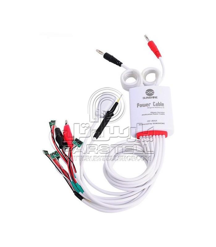 کابل منبع تغذیه سان شاین SUNSHINE SS-950A مخصوص گوشی های آیفون و ساسونگ
