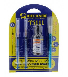 ست حلال چسب درب پشت آیفون MECHANIC T5111