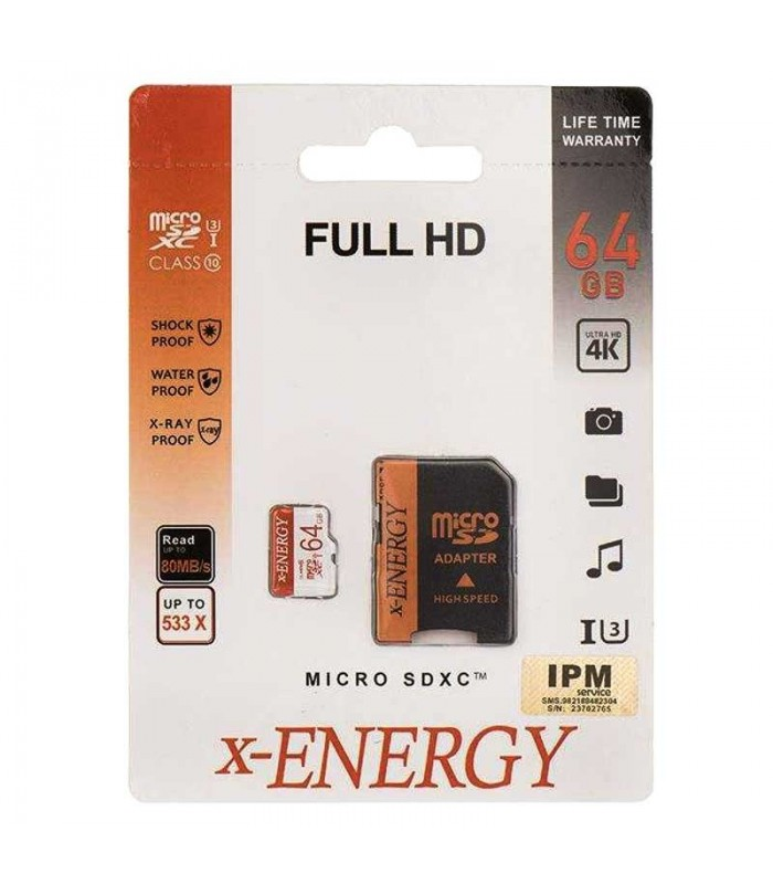 کارت حافظه ایکس انرژی X-ENERGY 64GB