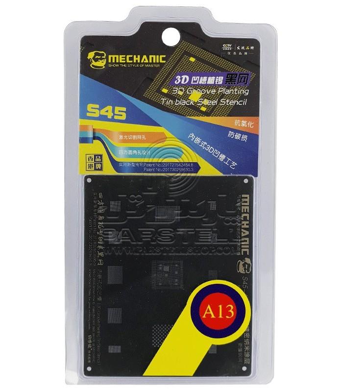 شابلون آیفون مکانیک A13 - MECHANIC S45 3D